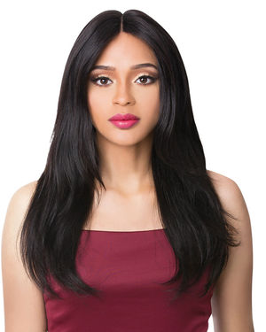 HH S Lace Alphina Lace Front & Lace Part Remy Human Hair Wig by It's a Wig