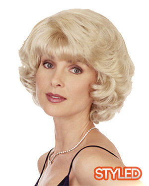 Dutch Girl Skin Top Synthetic Wig by Helena