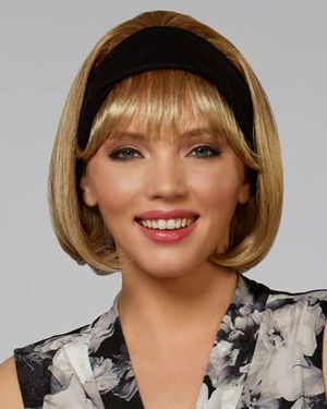 Classic Band Headband Synthetic Wig by Henry Margu