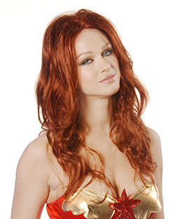 Siren Costume Wig by Wicked Wigs