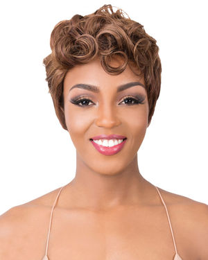 Modern Synthetic Wig by It's a Wig