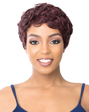 Pin Curl 201 Synthetic Wig by It's a Wig