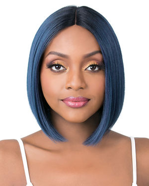 Q Part Becky Lace Part Synthetic Wig by It's a Wig