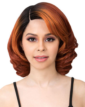 Carrie Lace Part Synthetic Wig by It's a Wig