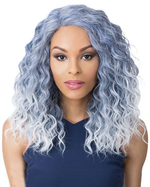 Swiss Lace Marina Lace Front & Lace Part Synthetic Wig by Its a Wig