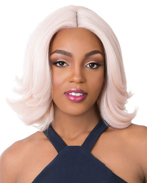 Swiss Lace Celest Lace Front & Lace Part Synthetic Wig by It's a Wig