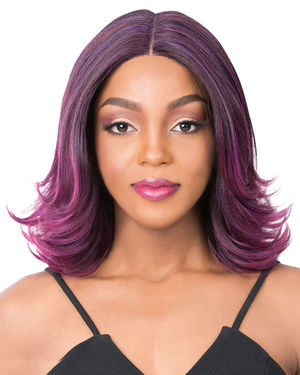 Swiss Lace Serafina Lace Front & Lace Part Synthetic Wig by It's a Wig
