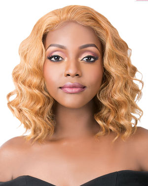 Simply Lace Tides Wave Lace Front Synthetic Wig by It's a Wig