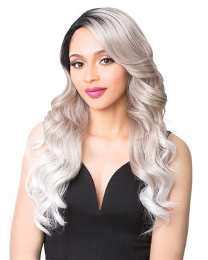 Swiss Lace Blondel Lace Front & Lace Part Synthetic Wig by It's a Wig