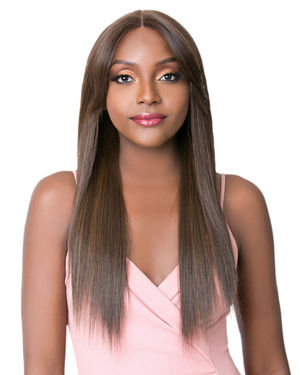 Swiss Lace Curtain Call Lace Front & Lace Part Synthetic Wig by It's a Wig