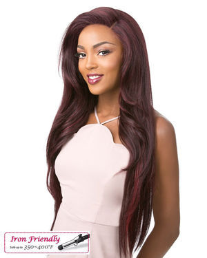 360 Lace Adelinda Human Hair Blend Wig by Its a Wig