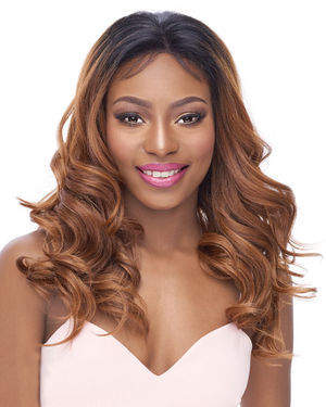 360 Lace Deep Ocean Human Hair Blend Wig by Its a Wig