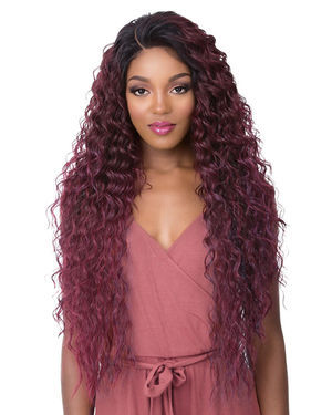 Frontal 360 Lace Tamara Lace Front Synthetic Wig by Its a Wig