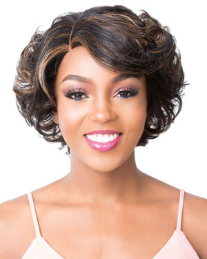 HH S Lace Anya Lace Front & Lace Part Human Hair Wig by It's a Wig