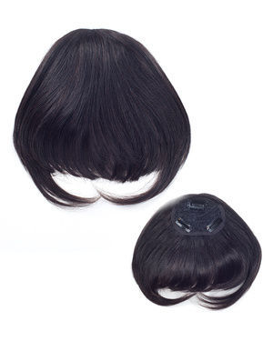 HH Remi Top Piece Bang Remy Human Hair Wiglet by It's a Wig