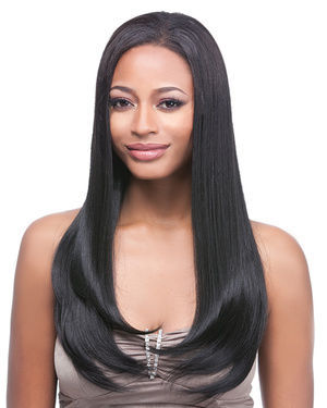 Clip On J Curl 18 Synthetic Hair Extension by It's a Wig