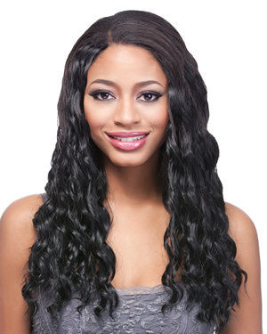 Clip On Ocean Wave 18 Synthetic Hair Extension by It's a Wig