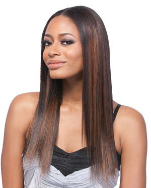 Clip On Yaki ST 14 Synthetic Hair Extension by Its a Wig