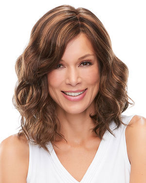 Mila (Exclusive) Lace Front & Monofilament Synthetic Wig by Jon Renau