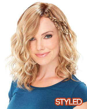 Mila Petite Lace Front & Monofilament Synthetic Wig by Jon Renau