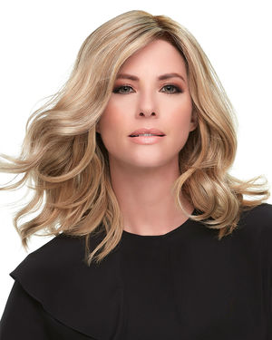 Top Smart Wavy 12 inch Lace Front & Monofilament Synthetic Hair Toppers by Jon Renau