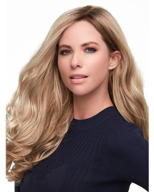 Top Smart Wavy 18 inch Lace Front & Monofilament Synthetic Hair Toppers by Jon Renau