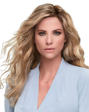Sarah Large (Exclusive) Lace Front & Monofilament Synthetic Wig by Jon Renau