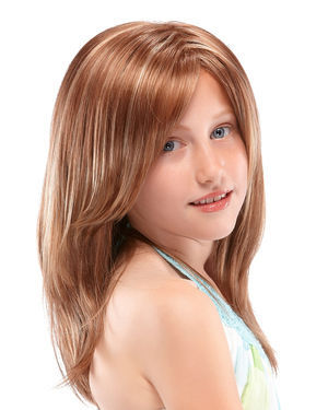 Ashley Petite Kids Monofilament Synthetic Wig by Jon Renau