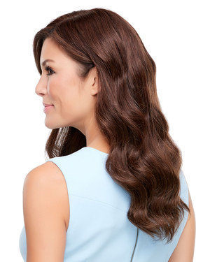 Top Style HH 18 inch (Exclusive) Monofilament Remy Human Hair Toppers by Jon Renau