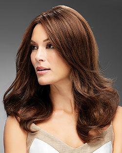 Angie Lace Front & Monofilament Remy Human Hair Wig by Jon Renau