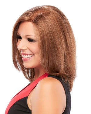 Courage Petite/Average Lace Front Monofilament Remy Human Hair Wig by Jon Renau