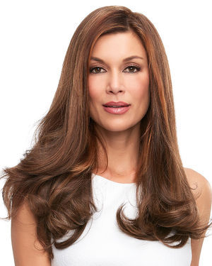 Top Full 18 inch Monofilament Remy Human Hair Toppers by Jon Renau