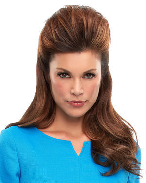 Top This 16 inch Monofilament Remy Human Hair Toppers by Jon Renau