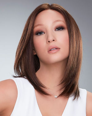 Carrie Hand Tied (Exclusive) Lace Front & Monofilament Remy Human Hair Wig by Jon Renau