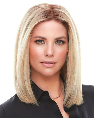 Top Smart HH 12 inch Lace Front & Monofilament Remy Human Hair Toppers by Jon Renau