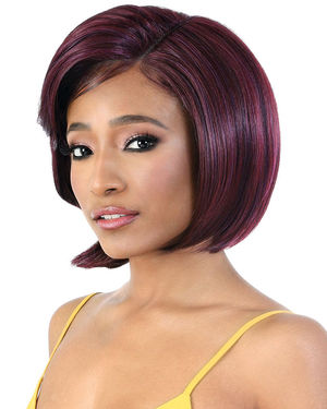 LDP-Blink Lace Front & Lace Part Synthetic Wig by Motown Tress