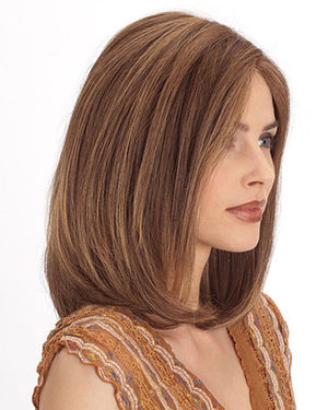 PLF002HM Lace Front & Monofilament Human Hair Wig by Louis Ferre