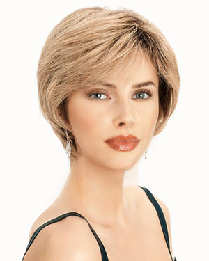 PLF003HM Lace Front & Monofilament Human Hair Wig by Louis Ferre