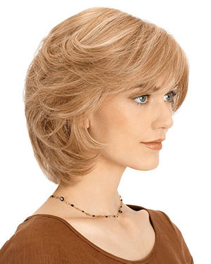 PLF004HM Lace Front & Monofilament Human Hair Wig by Louis Ferre
