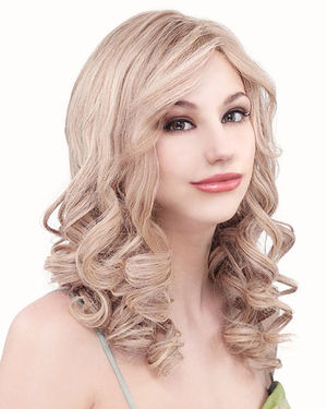 PLF006HM Lace Front & Monofilament Human Hair Wig by Louis Ferre