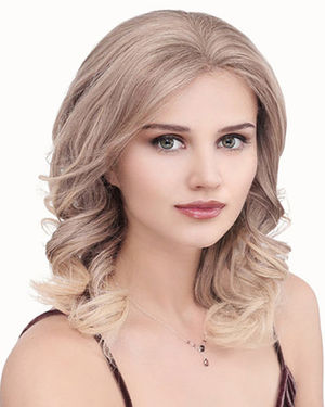 PLF007HM Lace Front & Monofilament Human Hair Wig by Louis Ferre