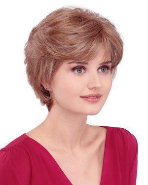April Monofilament Synthetic Wig by Louis Ferre