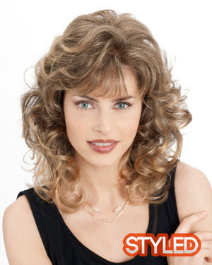 Estee Monofilament Synthetic Wig by Louis Ferre