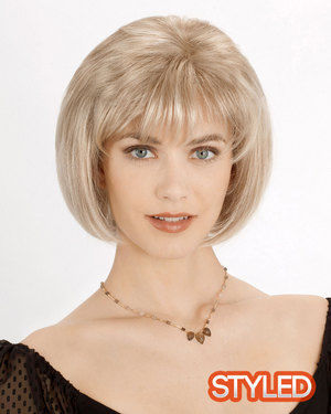 Gwen Monofilament Synthetic Wig by Louis Ferre