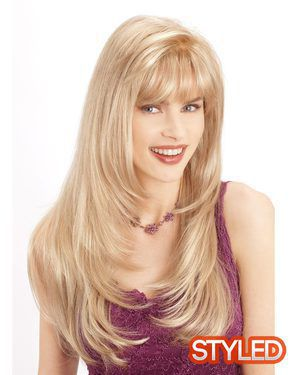 Pammy Monofilament Synthetic Wig by Louis Ferre