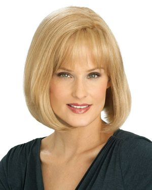 Opal Monofilament Human Hair Wig by Louis Ferre