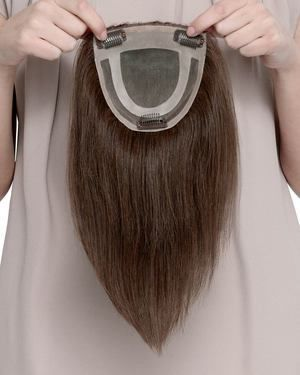 Toppiece 3001 Monofilament Human Hair Wiglets by Louis Ferre