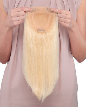 Toppiece 3002 Monofilament Human Hair Wiglets by Louis Ferre