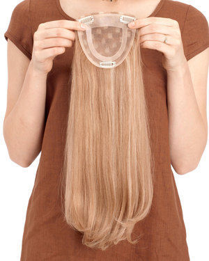 Toppiece 3003 Monofilament Human Hair Wiglets by Louis Ferre