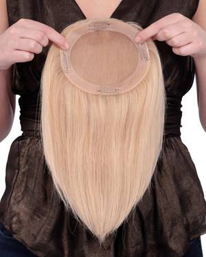 Toppiece 4001 Monofilament Human Hair Wiglets by Louis Ferre